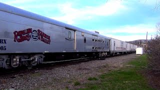 Ringling Brothers and Barnum & Bailey Circus Train at Asheville