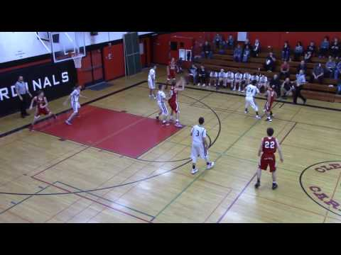 Clear Lake Cardinals basketball vs St Helena 1/25/17