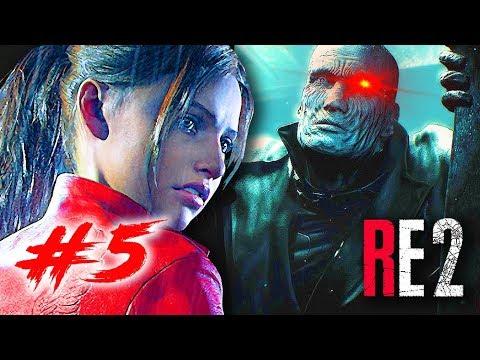 RESIDENT EVIL 2 #5: NỮ CHÍNH CỦA GAME ĐÃ XUẤT HIỆN !!! Đẹp \u0026 Ngầu level max !!!