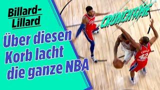 Lillards Billard-Korb & Doncic fast von Kamera überrollt | Crunchtime NBA