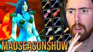 Asmongold Reacts To THE BEST Classic WoW Guide To Secret Bosses, Keys & Attunements - Madseasonshow