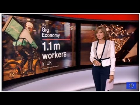 Britain's gig economy is 'rigged against workers'