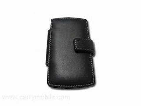 CarryMobile Leather Case for Samsung BlackJack i607 - Book T