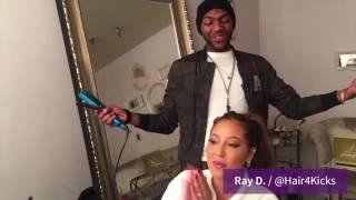 GLAMuary / Meet Adrienne's Hairstylist, Ray D.!