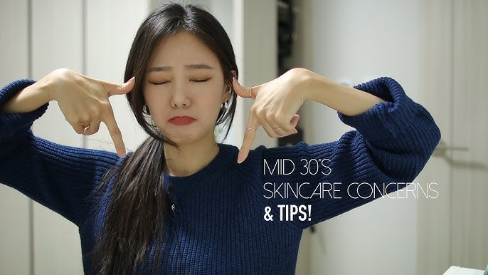 My MID 30's Skincare Beauty Concerns + TIPS! 30대 중반 뷰티걱정거리와 관리팁! [kor]