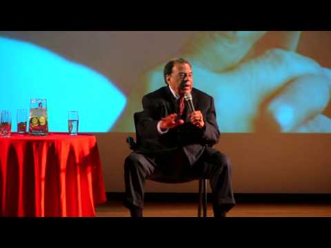 AN EVENING WITH AMBASSADOR ANDREW YOUNG AT BANNEKER HIGH SCHOOL