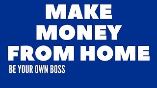 Make money from home nz | 3 step formula