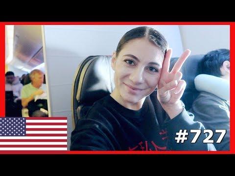 AMERICAN AIRLINES FLIGHT HONG KONG TO DALLAS DAY 727 | TRAVEL VLOG IV