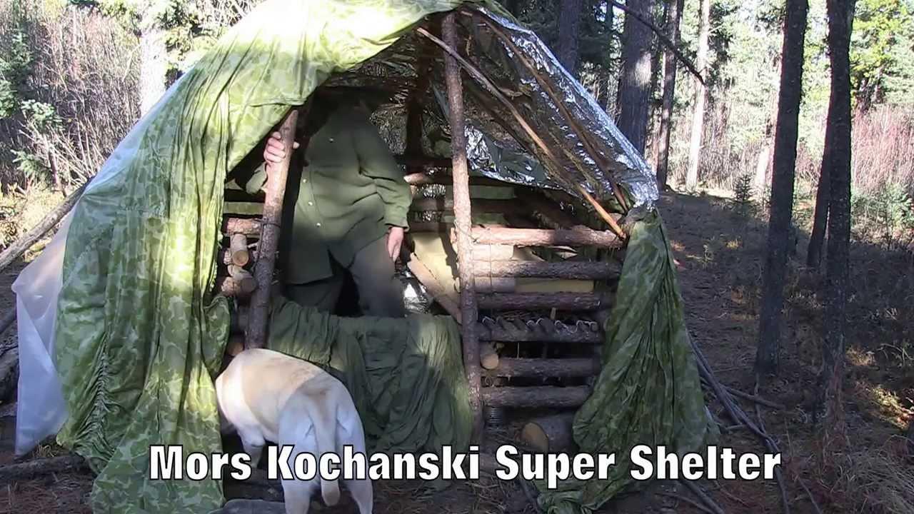 Mors Kochanski Super Shelter Youtube