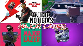 New MAJOR LAZER Concert in Fortnite, Stadium will be Destroyed and New STARTER PACK X - F News