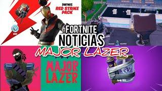 Nuevo Concierto MAJOR LAZER en Fortnite, Estadio será Destruido y Nuevo STARTER PACK X - Noticias F