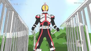 Kamen Rider Faiz Biến Hình [ 5-5-5 ] phiên bản hoạt ảnh anime !!!!!!!