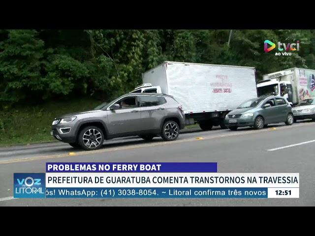 PROBLEMAS NO FERRY BOIAT - ROBERTO JUSTUS CONVERSA AO VIVO
