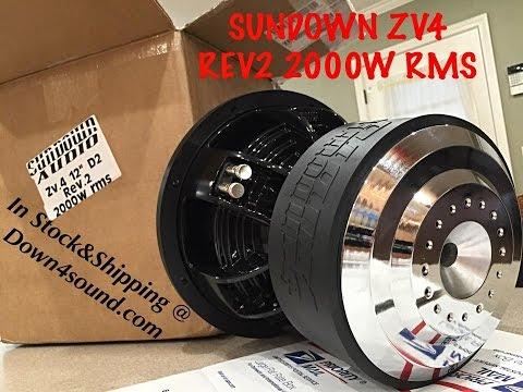 Sundown Audio Team 12 D2 1.4DCR 12 5000W RMS Dual 2-Ohm Team Series Subwoofer