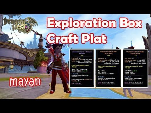 Mayan.....Exploration Box & Craft Plat-Dragon Nest INA