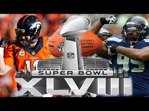 Super Bowl XLVIII - Denver Broncos vs Seattle Seahawks  (Madden 25 XB1 SImulation)