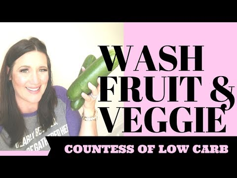 How To Wash Fruits and Vegetables Pesticides 👑 How To Clean Fruits and Vegetables