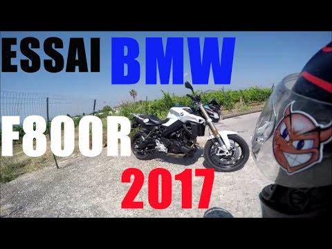 fabike #essai bmw f800r 2017 / moto de jeunes / polyvalence - youtube