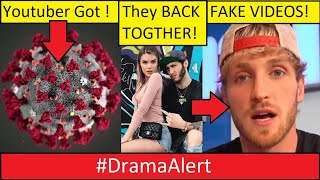 YouTuber Has CORONA VIRUS? #DramaAlert Logan Paul Faked video! Banks & Alissa Violet!