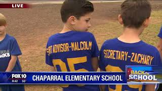 Back to school: Chaparral Elementary School