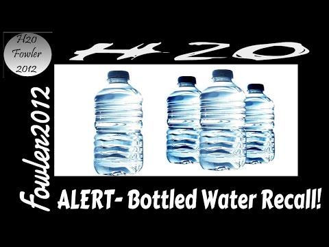 ALERT Bottled Water Recall June 2015