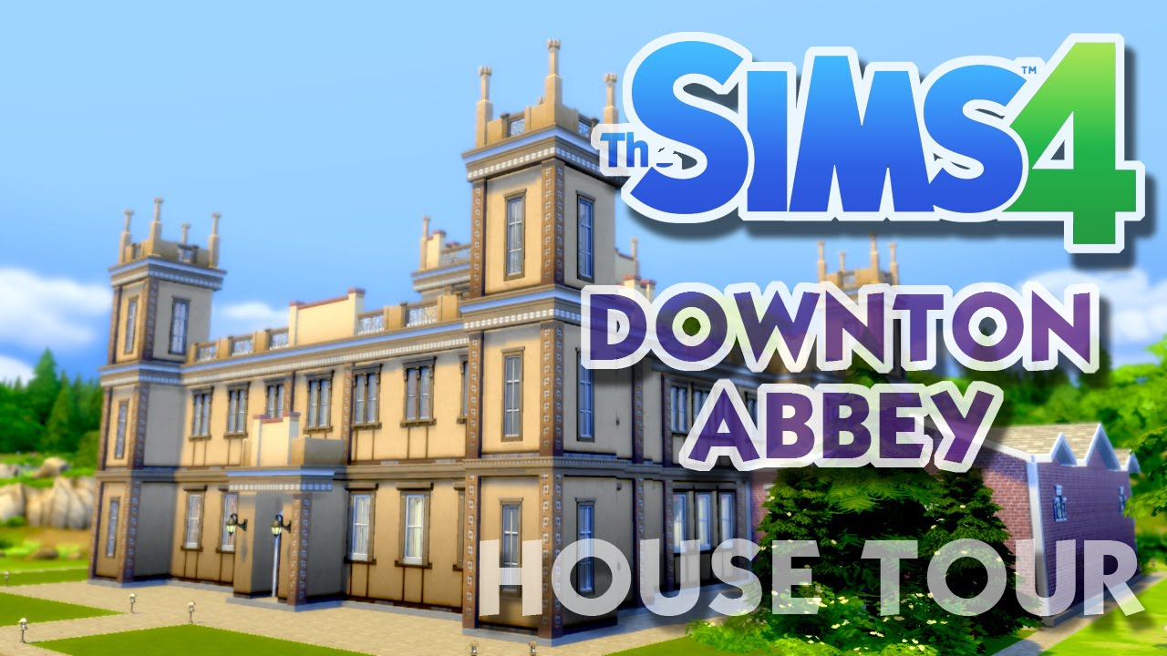 the sims 4 downton abbey highclere castle house tour and gameplay youtube. Black Bedroom Furniture Sets. Home Design Ideas