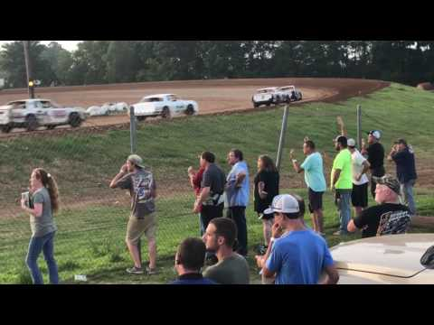 Brad Calhoun Dirt Track Racing 6/17/17 SS Heat