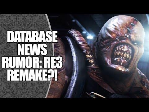 RUMOR: RESIDENT EVIL 3 REMAKE EM DESENVOLVIMENTO?! 😲 | DATABASE NEWS