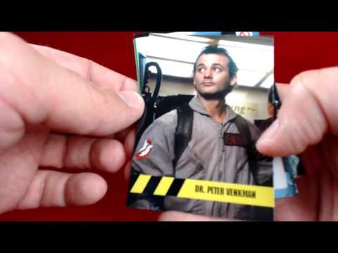 2016 Cryptozoic Ghostbusters Trading Card Live Box Break