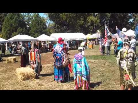 Paradise Pow Wow Grand Entrance Saturday