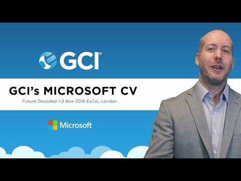 GCI's  Microsoft CV