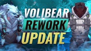 NEW VOLIBEAR REWORK UPDATE (Abilities, Skins, & More) - League of Legends Season 10