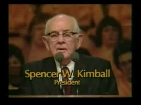 The Testimony Of Spencer W Kimball Youtube