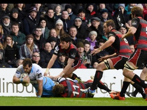 Tom Brown's try saving EXCELLENCE for Edinburgh