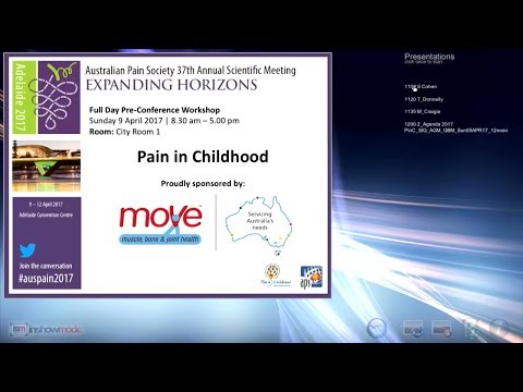 Pain in Childhood 1A