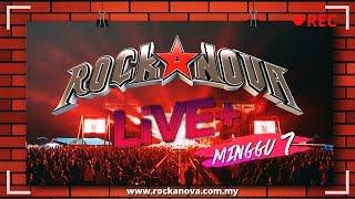 rockanova live konsert minggu tujuh 1005 930pm