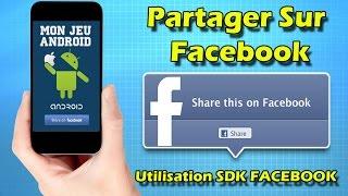 Unity  intégration d'un lien Facebook dans votre jeu avec la SDK - ShareToFacebook
