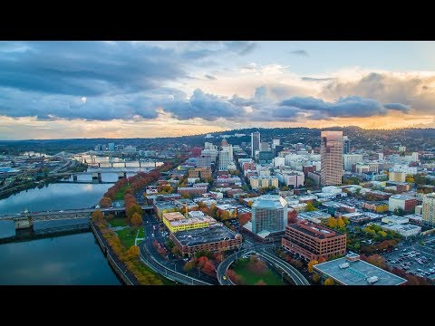 1 Hour Of Portland, Oregon In 4K (UHD)