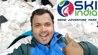 Snow World🏂/Ski India/-10°C temp⛄/Beat the Heat