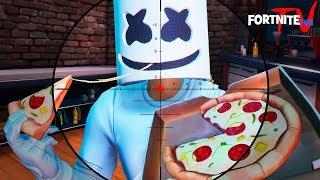 Marshmello in Fortnite DJ Battle Fortnite Short Film