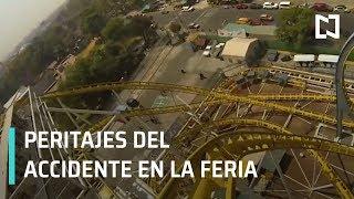 Peritajes del accidente en la Feria de Chapultepec - En Punto
