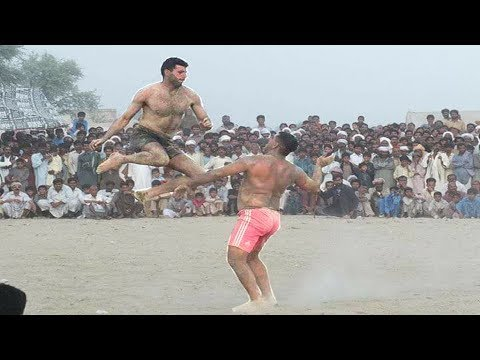 Javed JAttu Vs Saeed Bhatti .All Pakistan open kabaddi .Right 2 Fight