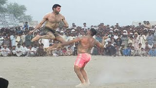 Javed JAttu Vs Saeed Bhatti .All Pakistan open kabaddi .Right 2 Fight