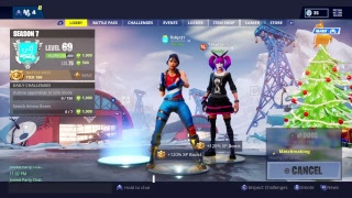 Fortnite live!!! Good consle player. New Lace and Paradox skin
