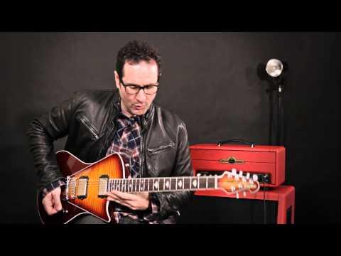 Blues Saraceno & The Ernie Ball Music Man Armada Guitar