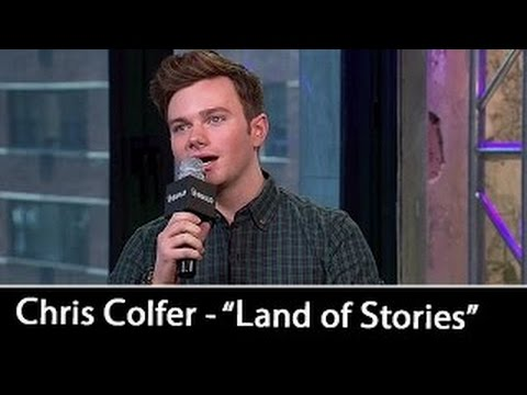 Chris Colfer Interview | 'The Land of Stories: An Author's Odyssey' | July 12, 2016