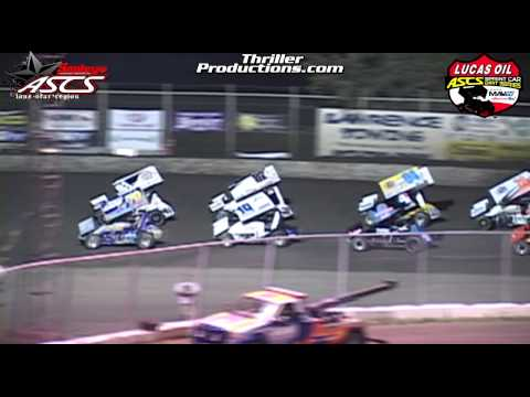 Lucas Oil ASCS National & Smiley's ASCS Lone Star SpeedWeek Night 1 @ KSP 6-14-13 Highlights