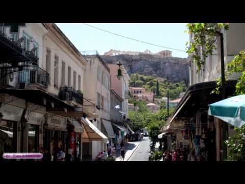 Soundscape | Streets of Athens, Greece | Relax, Sleep, Study