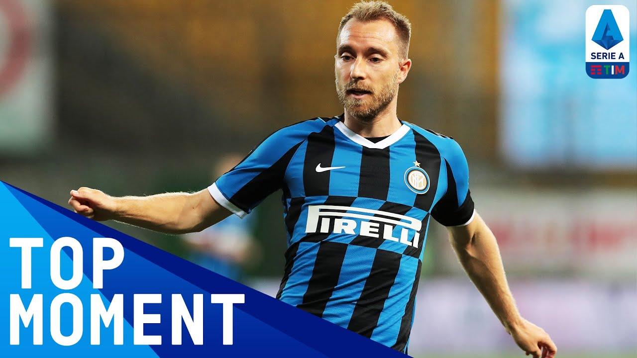 Christian Eriksen Scores his First League Goal for Inter! | Inter 6-0 Brescia | Serie A TIM