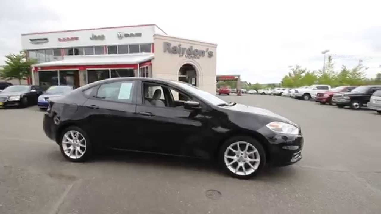 2013 dodge dart sxt/rallye | black | dd126613 | everett